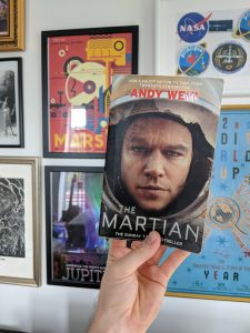 The Martian book