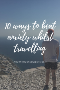 anxiety travelling