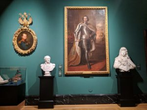 Queens Gallery during Russia exhibition