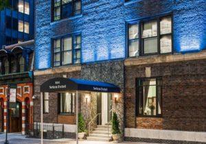 Facade of the Seton Hotel New York