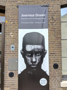 Refugee exhibition Kings Cross