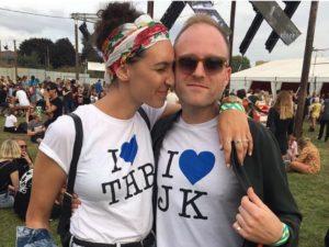 Jess and Tim t-shirts