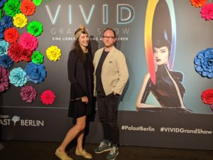 Jess and Tim at VIVID Grand Show Berlin