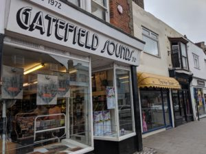 Gatefield Sounds Record Shop Whitstable