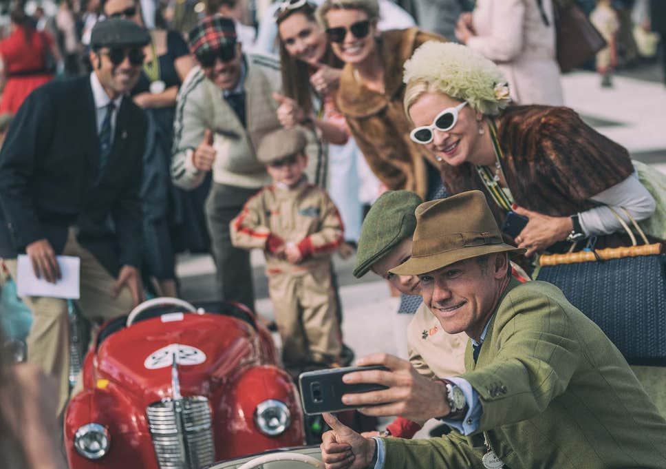 Goodwood revival vintage london