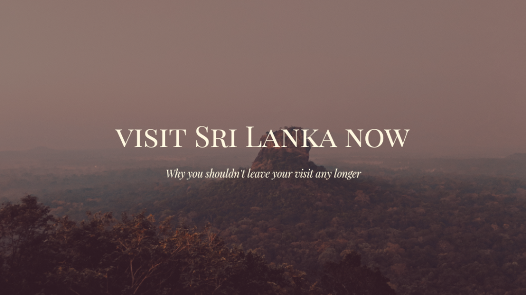 Visit Sri Lanka header
