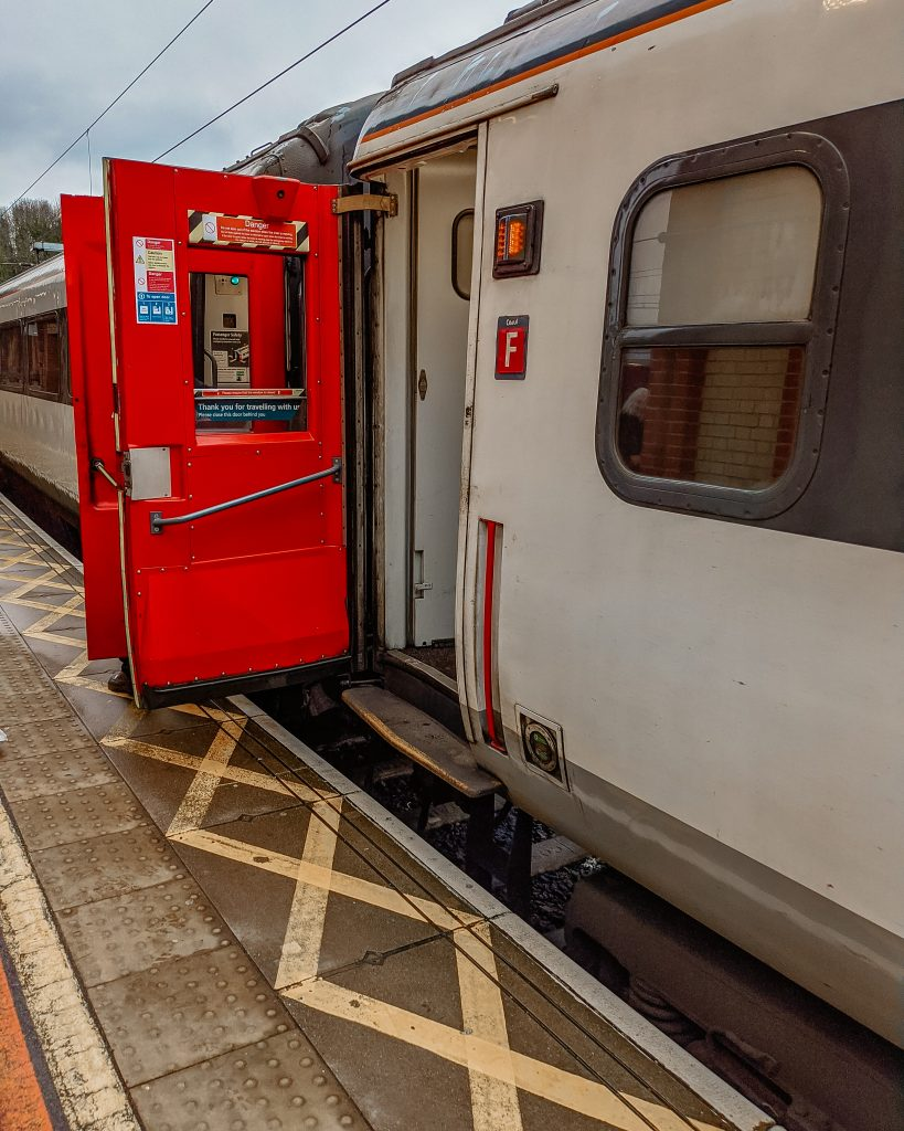 Suffolk train travel