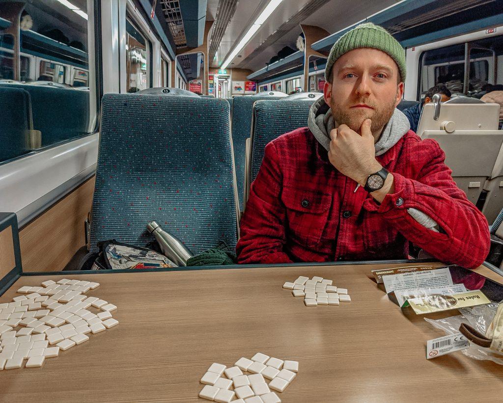 Bananagrams suffolk train travel