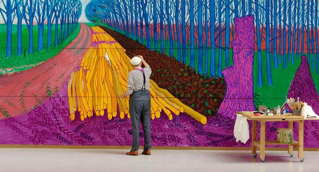 David Hockney isolation alternative