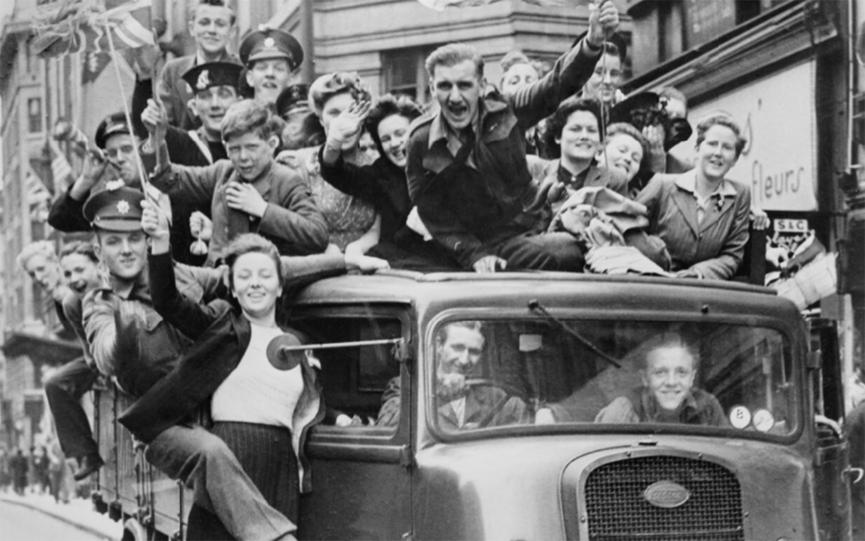 VE day at home IWM