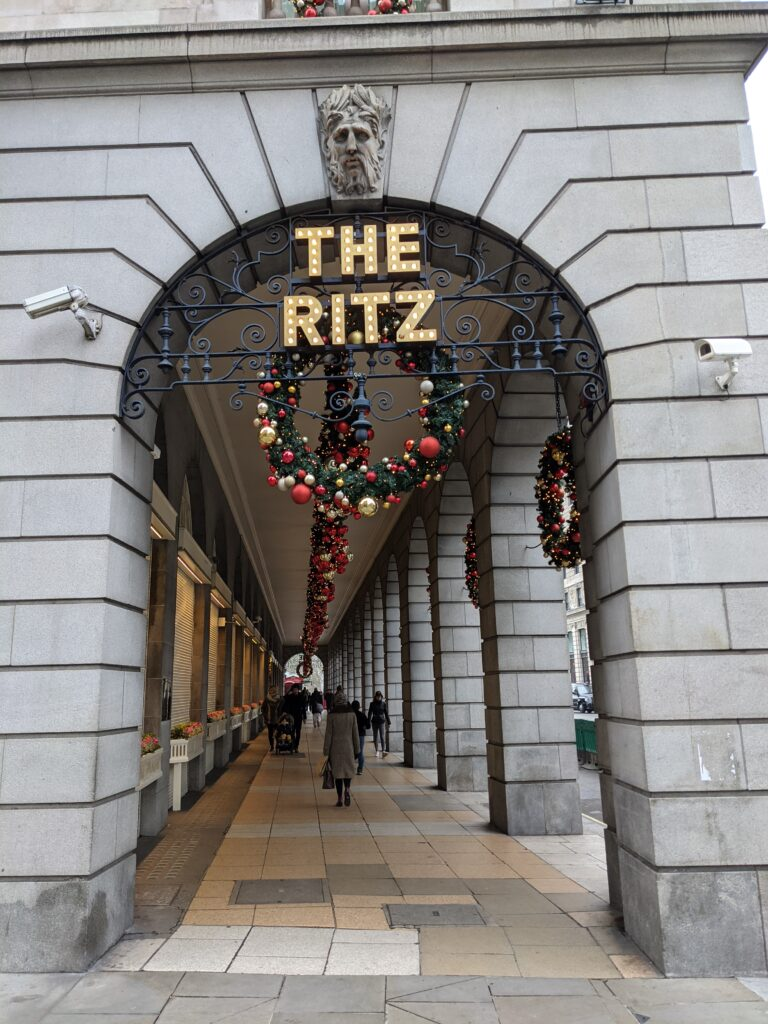 Festive photos The Ritz